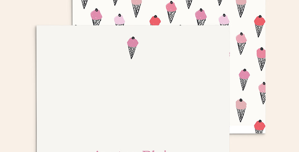 Ice Cream Cones ▪ Pink