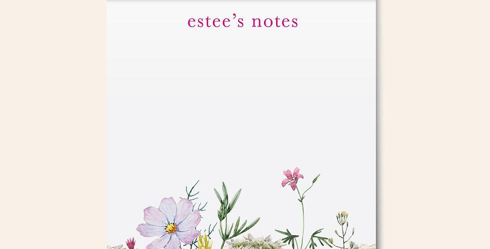 Bright Florals Notepad