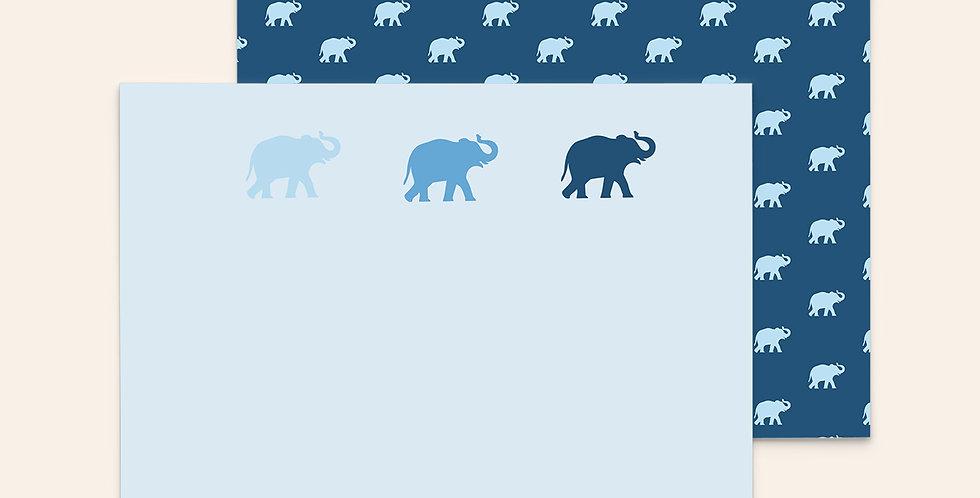 Three Top Elephants ▪ Blue