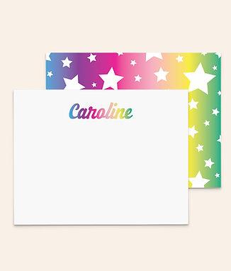 Retro Rainbow Stars