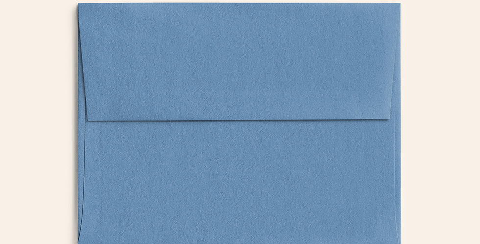 Colored Envelope - New Blue