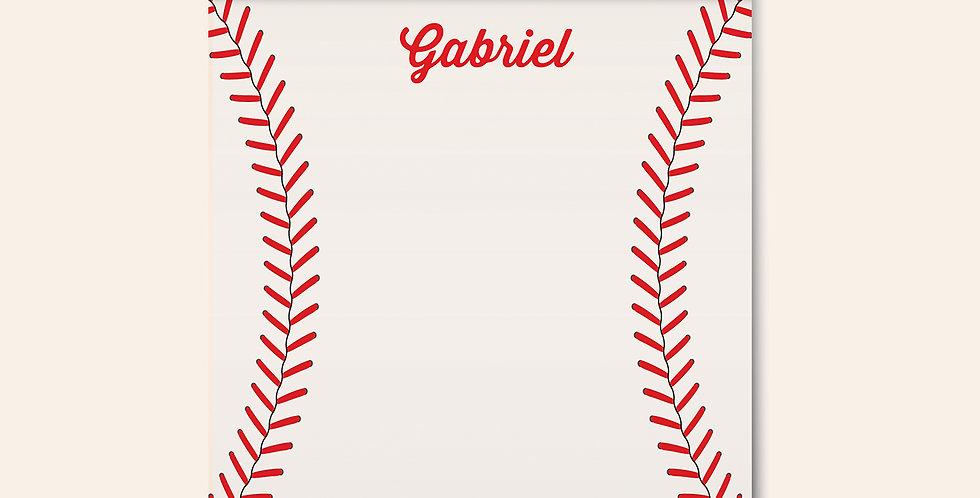 Little League Notepad