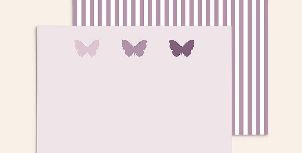 3 Butterflies ▪ Purple Ombre