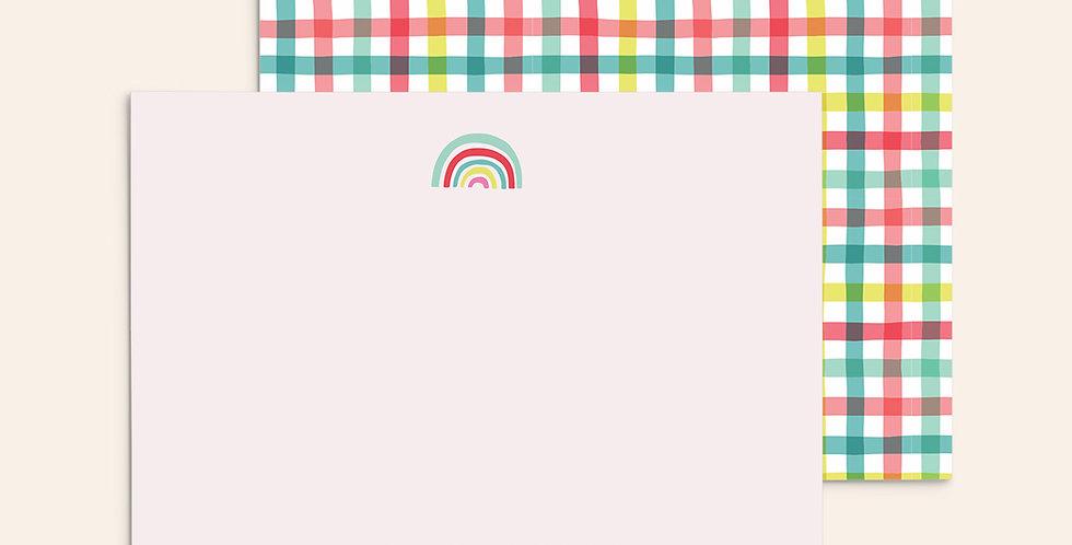 Rainbow Plaid
