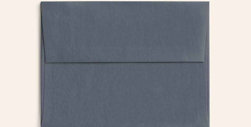 Colored Envelope - Dark Grey