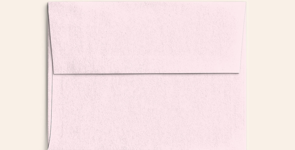 Colored Envelope - Soft Pink
