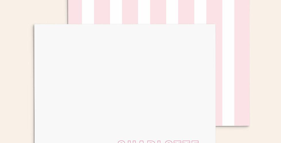 Cabana Stripes ▪ Pink