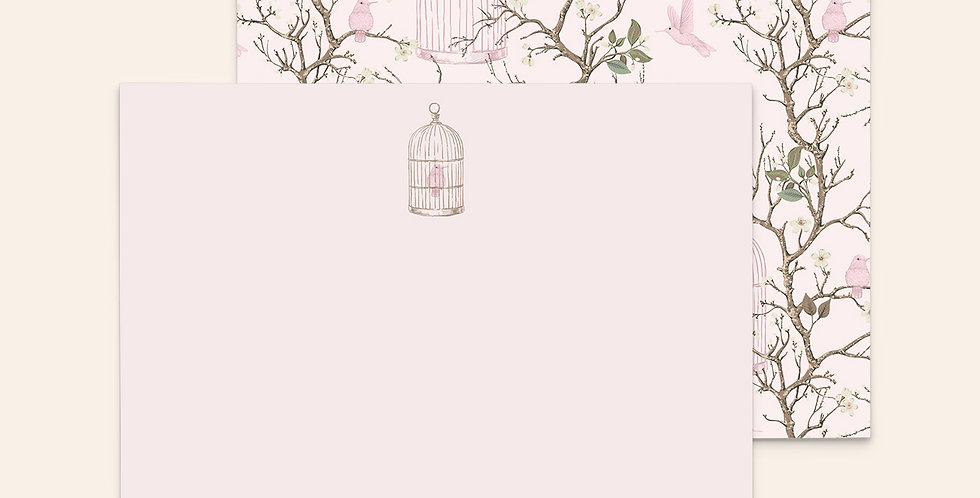 Baby Pink Bird Cages