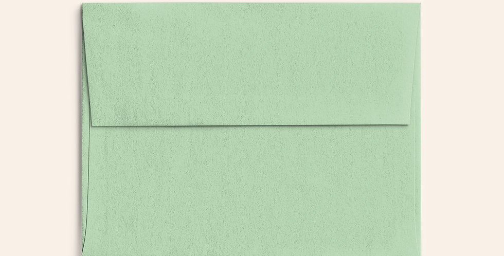 Colored Envelope - Park Green