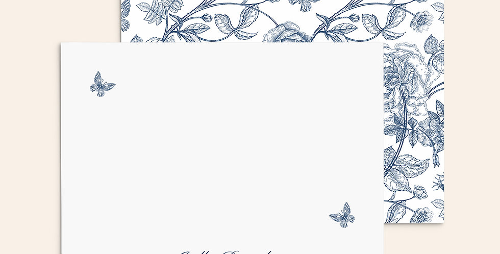 Butterfly Branches ▪ Navy