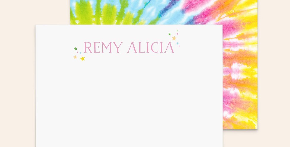 Ray of Rainbow Tie Dye