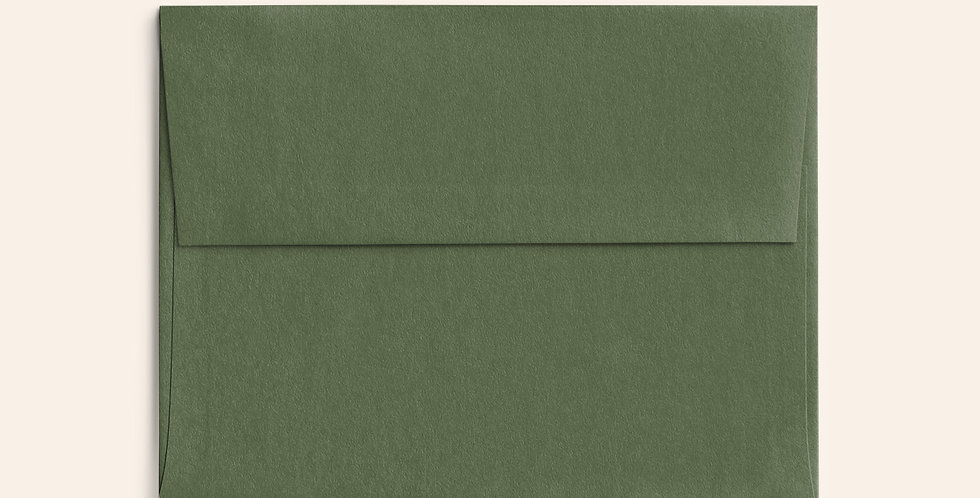 Colored Envelope - Mid Green
