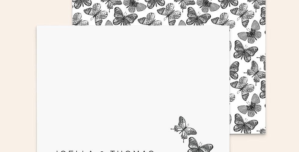 Classic Butterflies ▪ Black & White