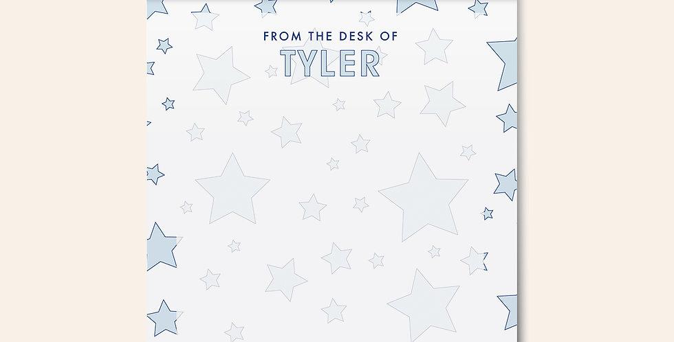 Starlight Notepad • Blue