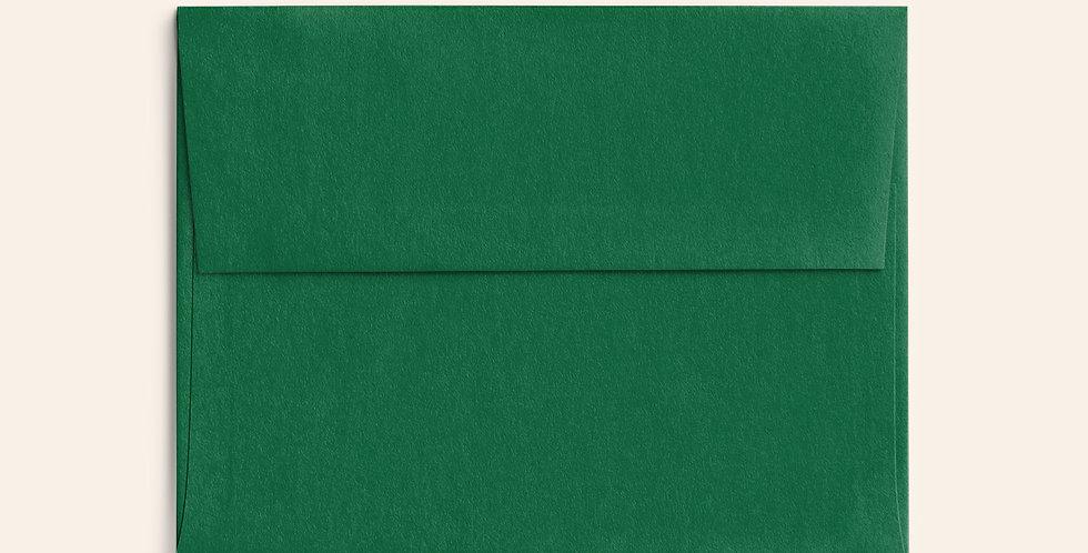 Colored Envelope - Lockwood Green