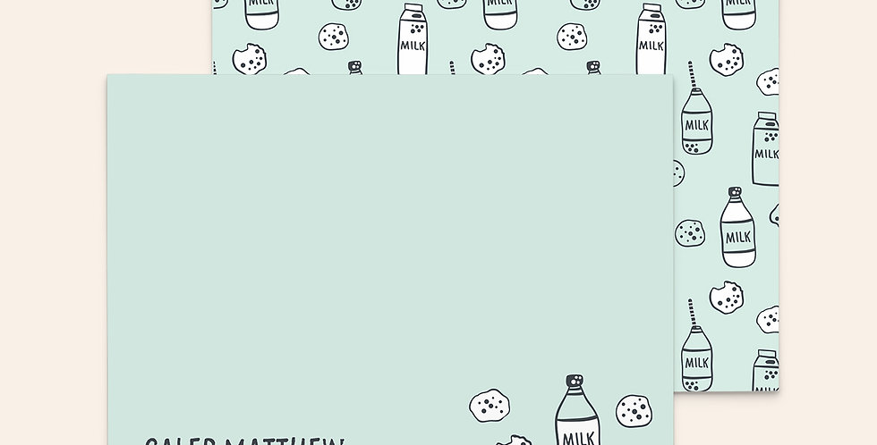 Milk & Cookies ▪ Mint