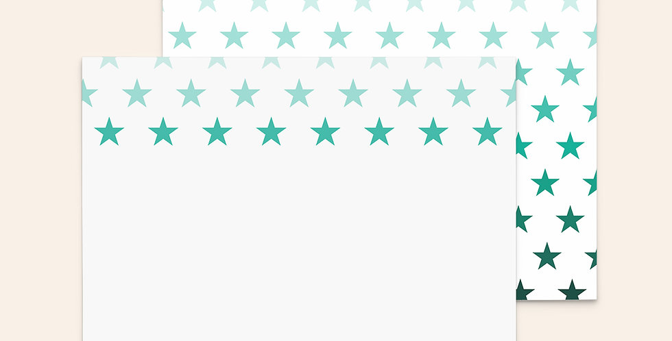 Ombre Stars ▪ Green
