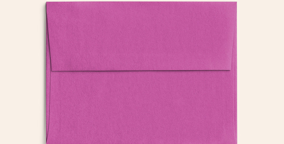 Colored Envelope - Fuchsia Pink