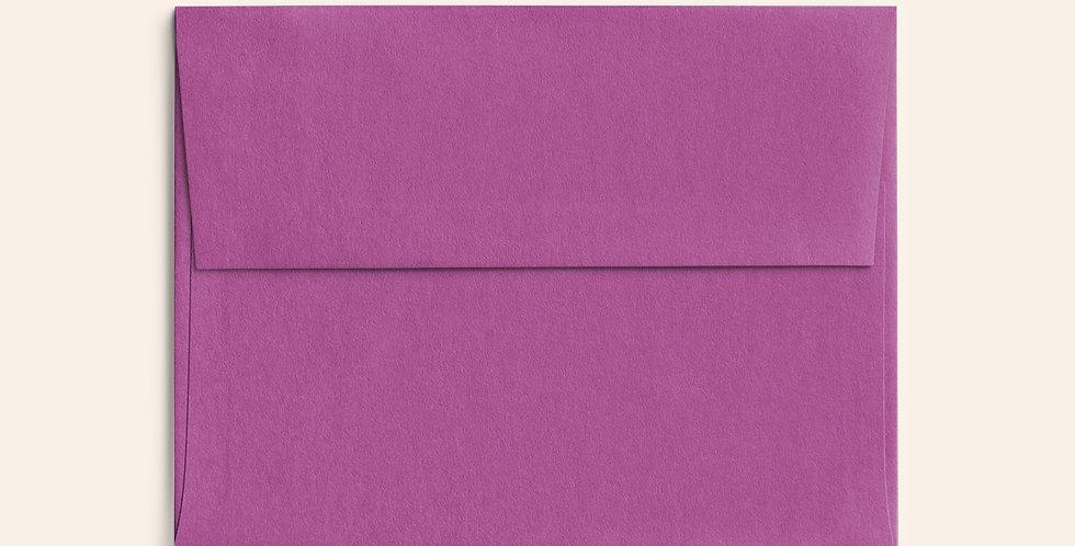 Colored Envelope - Dark Magenta