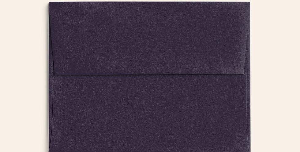Colored Envelope - Amethyst