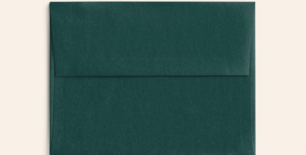 Colored Envelope - Racing Green
