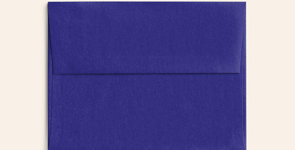 Colored Envelope - Royal Blue