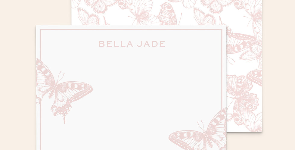 Butterfly Beauties • Pale Pink