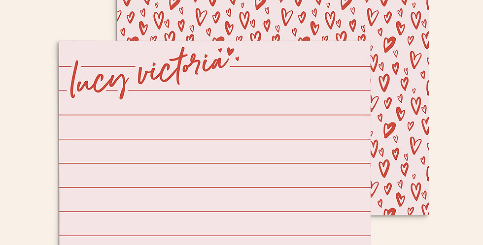 Notepad Doodles ▪ Pink
