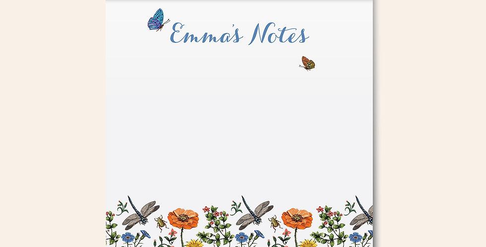 Garden Crawlers Notepad