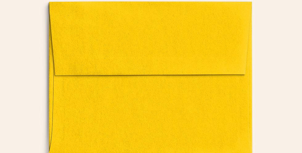 Colored Envelope - Citrine