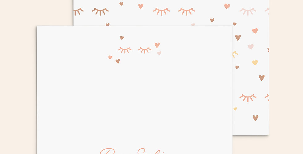 Eyelashes ▪ Peach