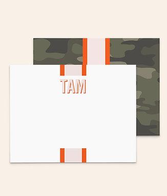 Camouflage Monogram
