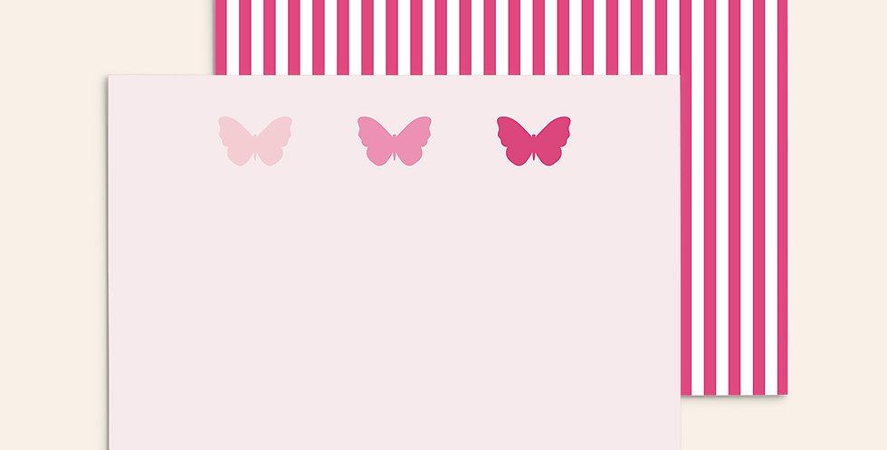 3 Butterflies ▪ Pink Ombre