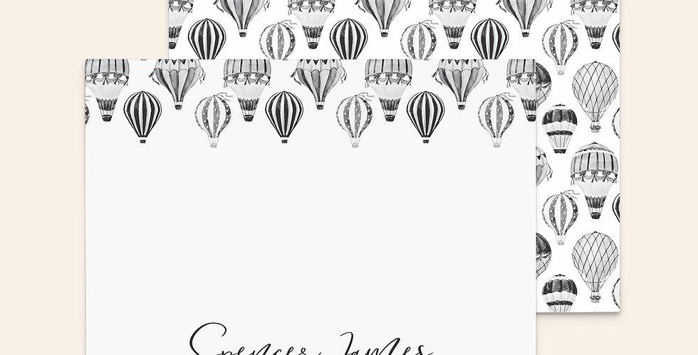 Black & White Balloons