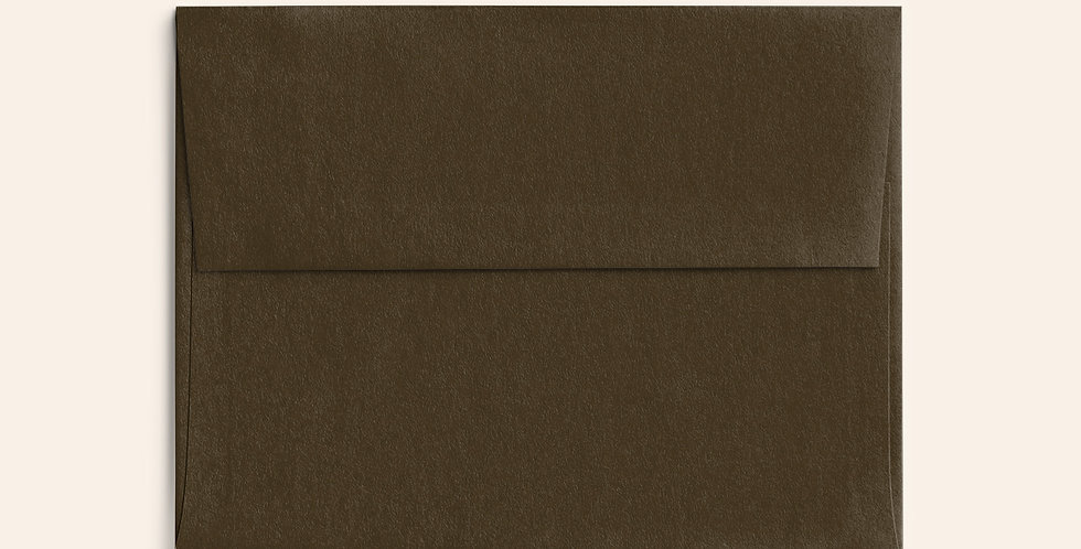Colored Envelope - Chocolate