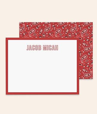 Bandana Baby • Red