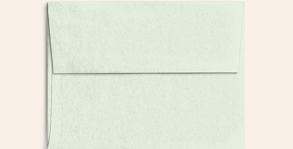 Colored Envelope - Powder Green
