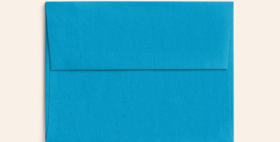 Colored Envelope - Tabriz Blue