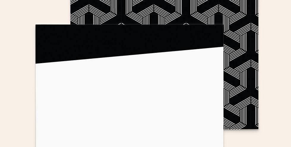 Geometric Arrows • Black