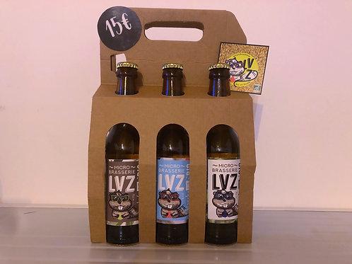 Pack de Bières mélangées x6