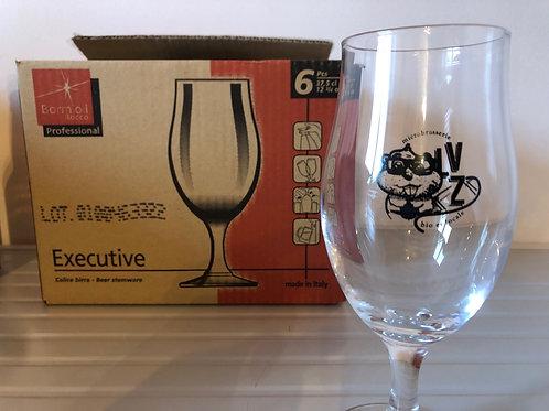 Carton 6 verres dégustation 37.5cl