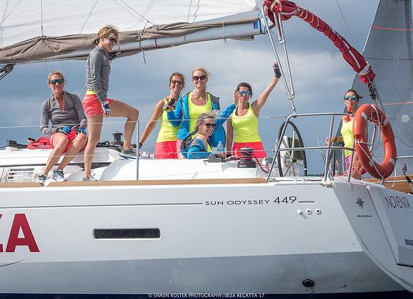 Daycharter sailing including dinner