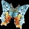 Akvarel motýl 13