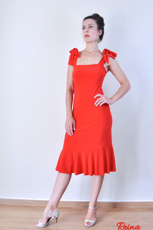 Volant dress