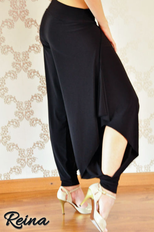 Long pants with slits