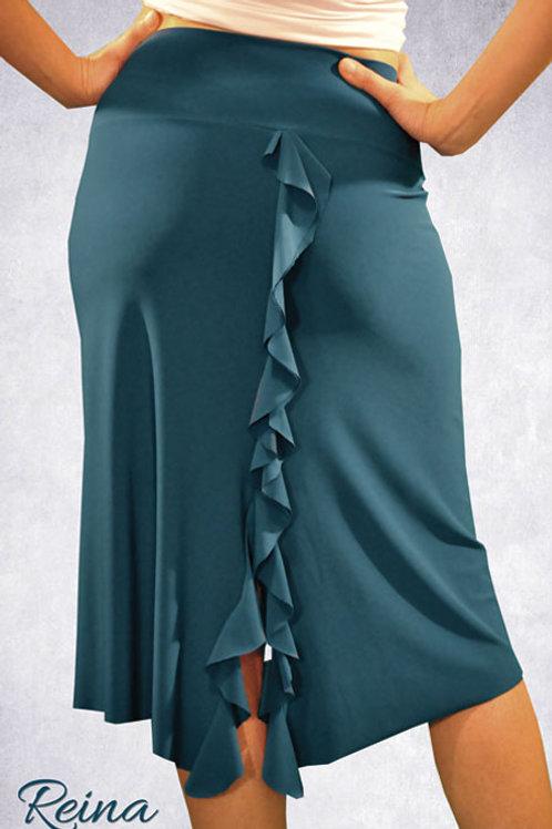 Skirt with back slit