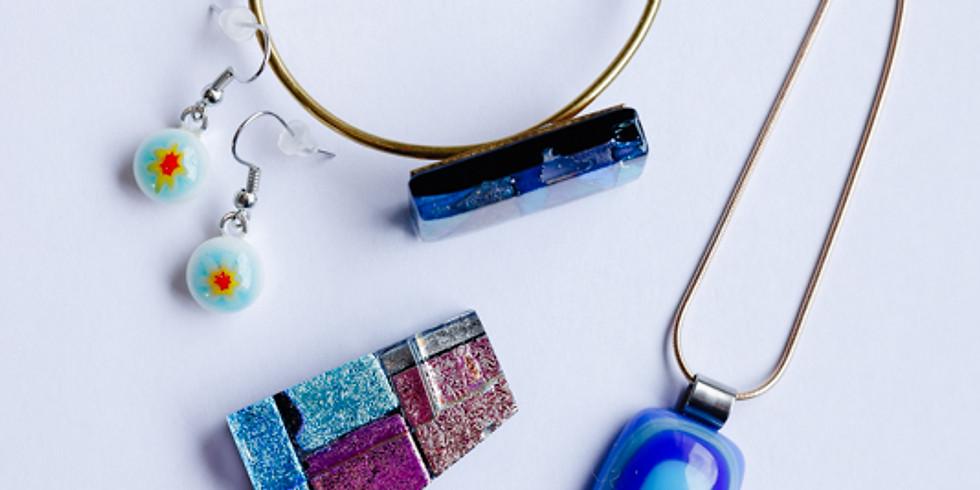 Jewelry glass fusing