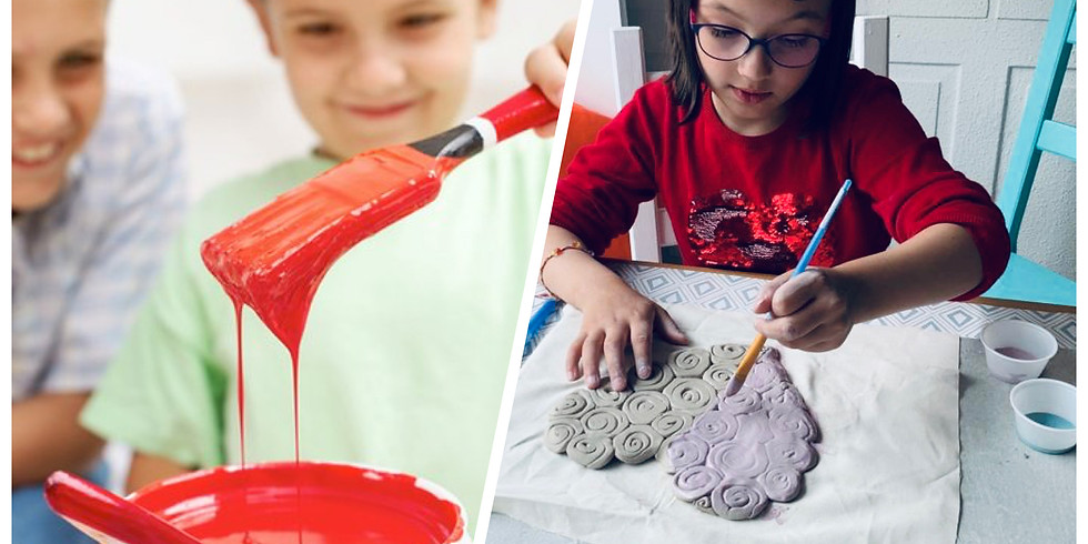 Spring School Holiday Art Camp for Kids