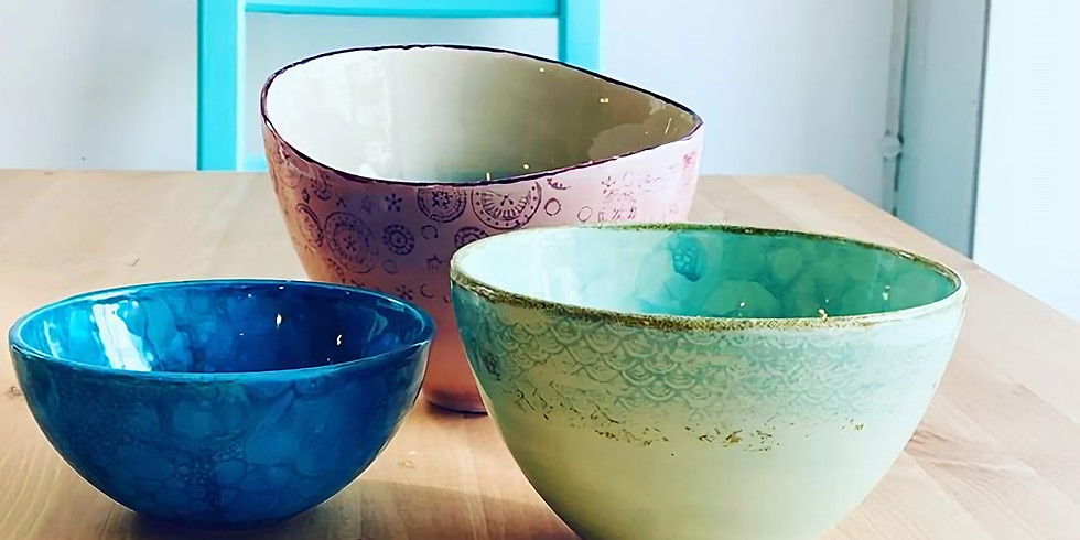 EX SIMD & Friends Pottery Painting Party