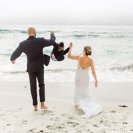 Beach Ceremony | Central California Coast Wedding